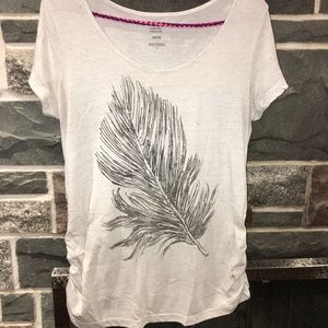 Feather Maternity Tee
